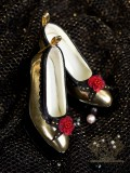 A-S Royal Golden Rose High Heels (SH31015) *Last Chance!*