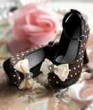 A-S Round Dots High Heel (SH31034) *Last Chance!*