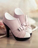 A-S Fashion Princess High Heels - Pink (SH31053)