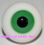 8mm BJD Eyes - Clover Green (Round)