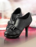 A-S Fashion Princess High Heels - Black (SH31051)