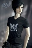 A-S 70+ Gothic Black T-Shirt (CL1120318311)