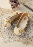 A-S Blossom Flat Heel Shoes (SH31057)