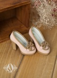 A-S Vintage Shoes - Pink (SH31061) *Sold Out*