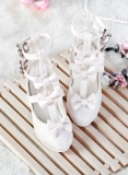 A-S Sweety Loli Girl White Shoes (SH32008)