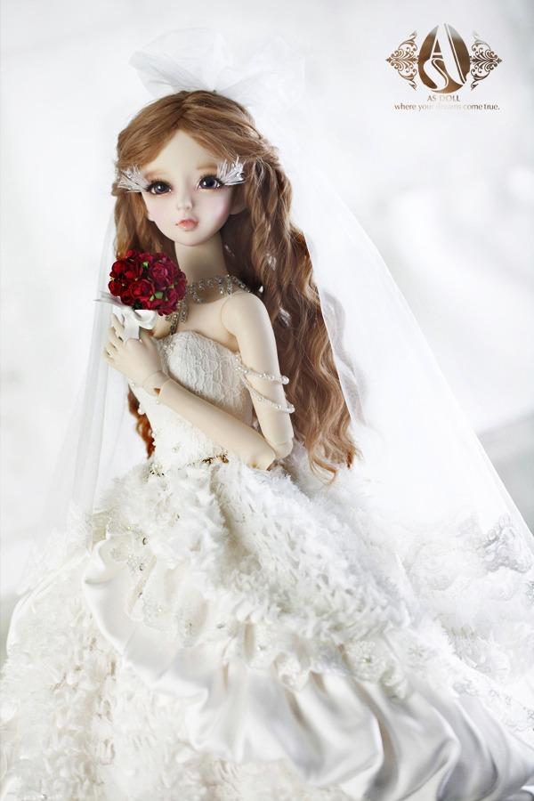 A-S Romantic Princess Wedding Dress (CL3130510)