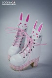 CN Shoes CMS000062 - White x Pink Rabbit