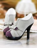 A-S Fashion Princess High Heels - Gray (SH31052) *Last Chance!*