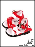 LUTS Shoes HDS-04 (Mix Red)