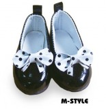 Black Tea Party Shoes (6.3cm)