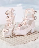 A-S Sweety Loli Girl Pink Shoes (SH32007)
