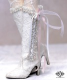 A-S Fairy Lace High Boots White (SH314113)
