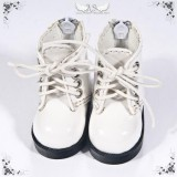 A-S White BB Boots (SH62002) -SOLD OUT-
