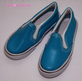 Blue Shiny Slip-on Sneakers (8.5cm) *Last Chance!*