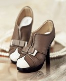 A-S Fashion Princess High Heels - Brown (SH31050) *Sold Out*