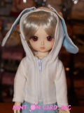 Beautiful Bunny - Pale Blue (1/6)