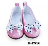 Bright Pink Tea Party Shoes (7cm)