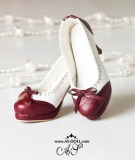 A-S Elegant Red Bow High Heel Shoes (SH31073)