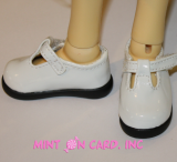 Lovely Jane Shoes - White (7cm)