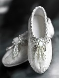 A-S Antique Silver Shoes (SH31026)