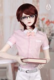 A-S 70+ Fashion Short Sleeve Shirt - Pink (CL140521)