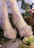 A-S Purple Lace Princess Shoes (SH316121)
