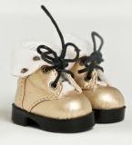 A-S Pearl Light Gold Boots (SH614023)