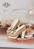 A-S Vintage Shoes - Tan (SH31062) *Last Chance!*