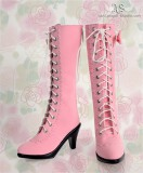 A-S Pink Chammy Boots (SH33014) *Sold Out*